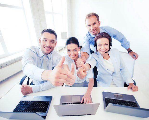 在宅勤務も可能 多様な働き方に対応し人材を確保