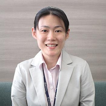 データセンターオペレーション部 藤井 由美子 入社8年目