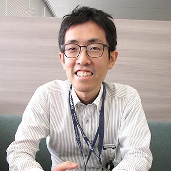 プラットフォーム開発部 主査 外山 篤史 入社9年目