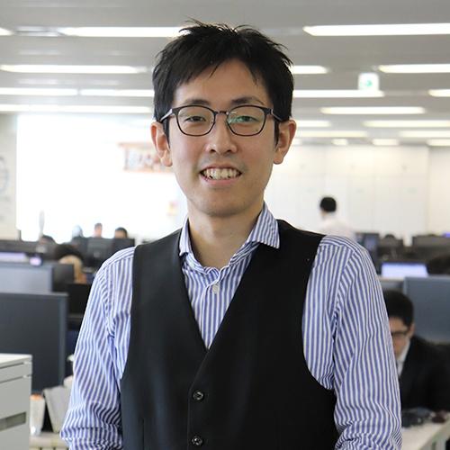 プラットフォームデザイン担当 主査 外山 篤史 入社10年目